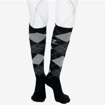 61da9fe553e Horze Holly Argyle Riding Socks