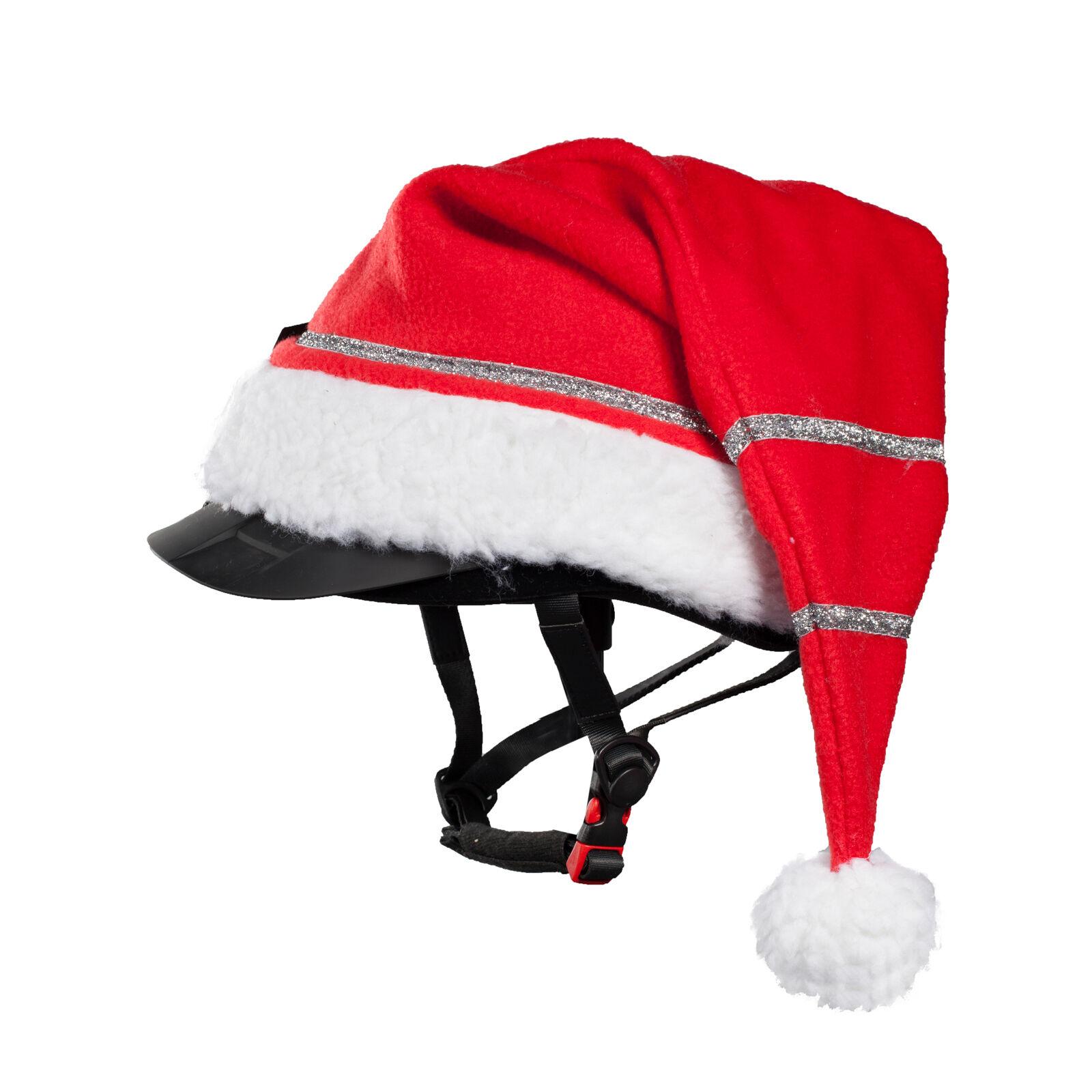 Horze Christmas Cap for Helmet   Horze