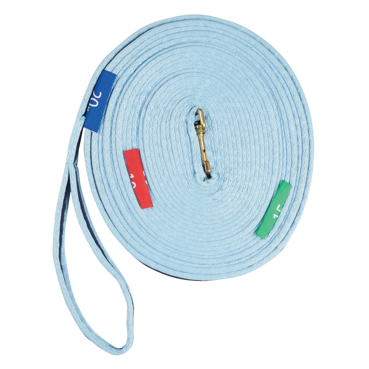 Kincade Two Tone Lunge Line With Circle Markers | Horze