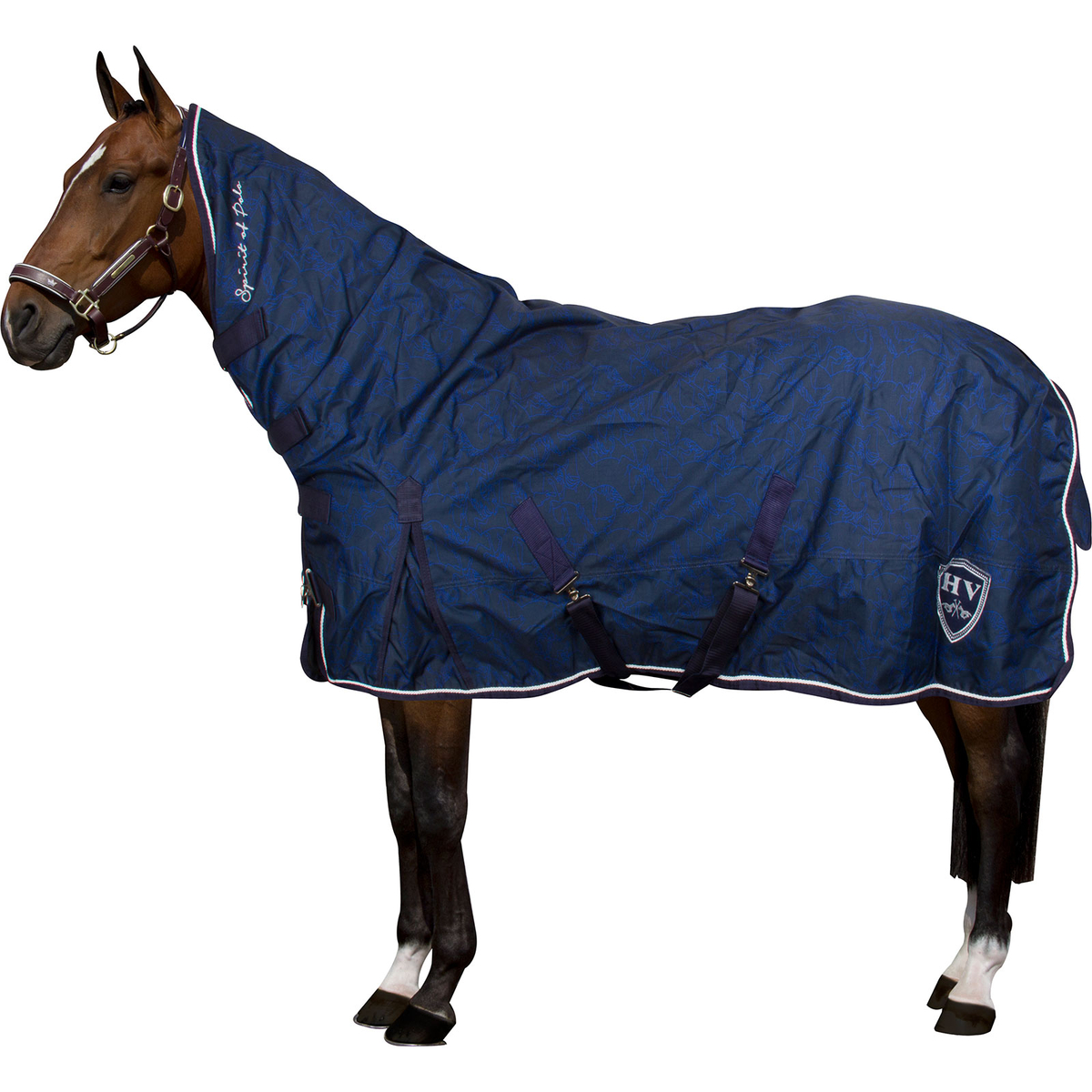 Hvpolo Outdoorblanket With Neck Longmont 0gr Horze