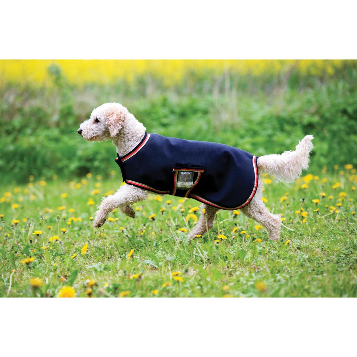 Dog Rambo Rug: Horseware Rambo Waterproof Fleece Dog Rug, S